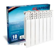 Радиатор алюминиевый AQUAPROM 96*500 8 сек.