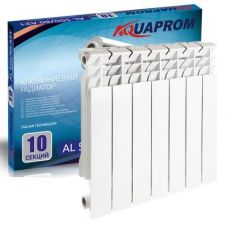 Радиатор алюминиевый AQUAPROM 80*500 6 сек.