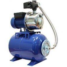 Станция автоматического водоснабжения AUТО JS 100 (бак 24 л, 0,75 кВт, напор до 43 м, до 3600 л/час)