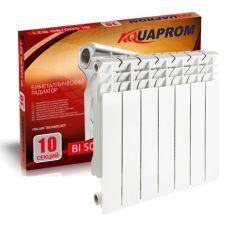 Радиатор биметаллический AQUAPROM 80*500 12 сек.
