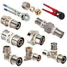 Пресс-фитинги для металлопластиковых труб VALTEС