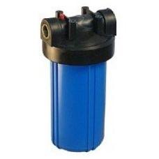 """Корпус Вig Вlue 10"""" для холодной воды (кронштейн,манометр, латунные вставки)"""