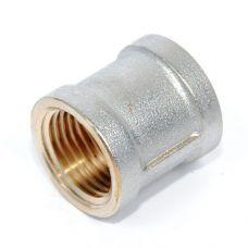 Муфта 1 1/2' вн/вн VRT® никель