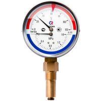 Термоманометр 80х1/2 150С 1,6МПа ТМТБ-31Р.1 шток 46мм (нижнее радиальное подкл.) РОСМА