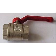 """Кран вода RR 1 1/4"""" г/г руч (371)"""