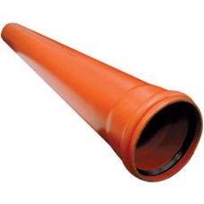110 труба 1 м ПП ПОЛИТЭК (толщ. стенки 3,4) наруж.