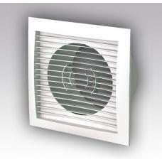 Решетка вентиляционная 150*150 приточно-вытяжн с фланцем D100 1515РС10Ф АБС
