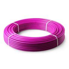 Труба из ПЭ повышенной термост PE-RT 16*2,2 (200м) с кисл барьером PRO AQUA фиолетовая