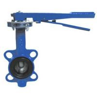 Затвор поворотн дисковыйучн ДУ- 50 PN16 (темп -30 +130, диск-чугун, уплотн-резина EPDM)