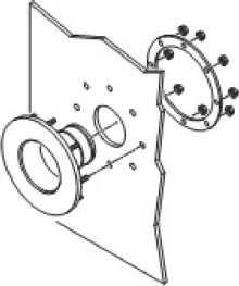 как установить гермоввод